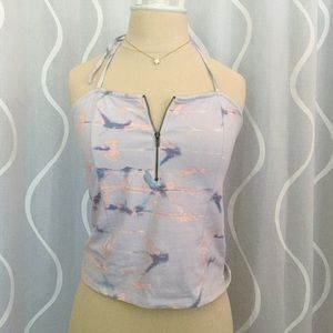 Urban Outfitter's Lilac Crop Top